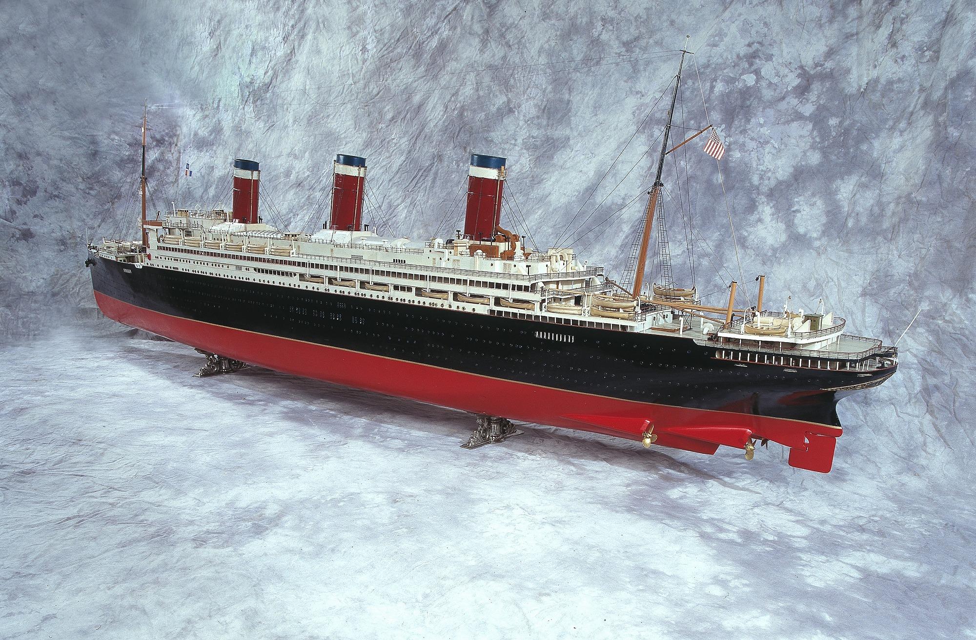 Ship Model, <i>Leviathan</i>