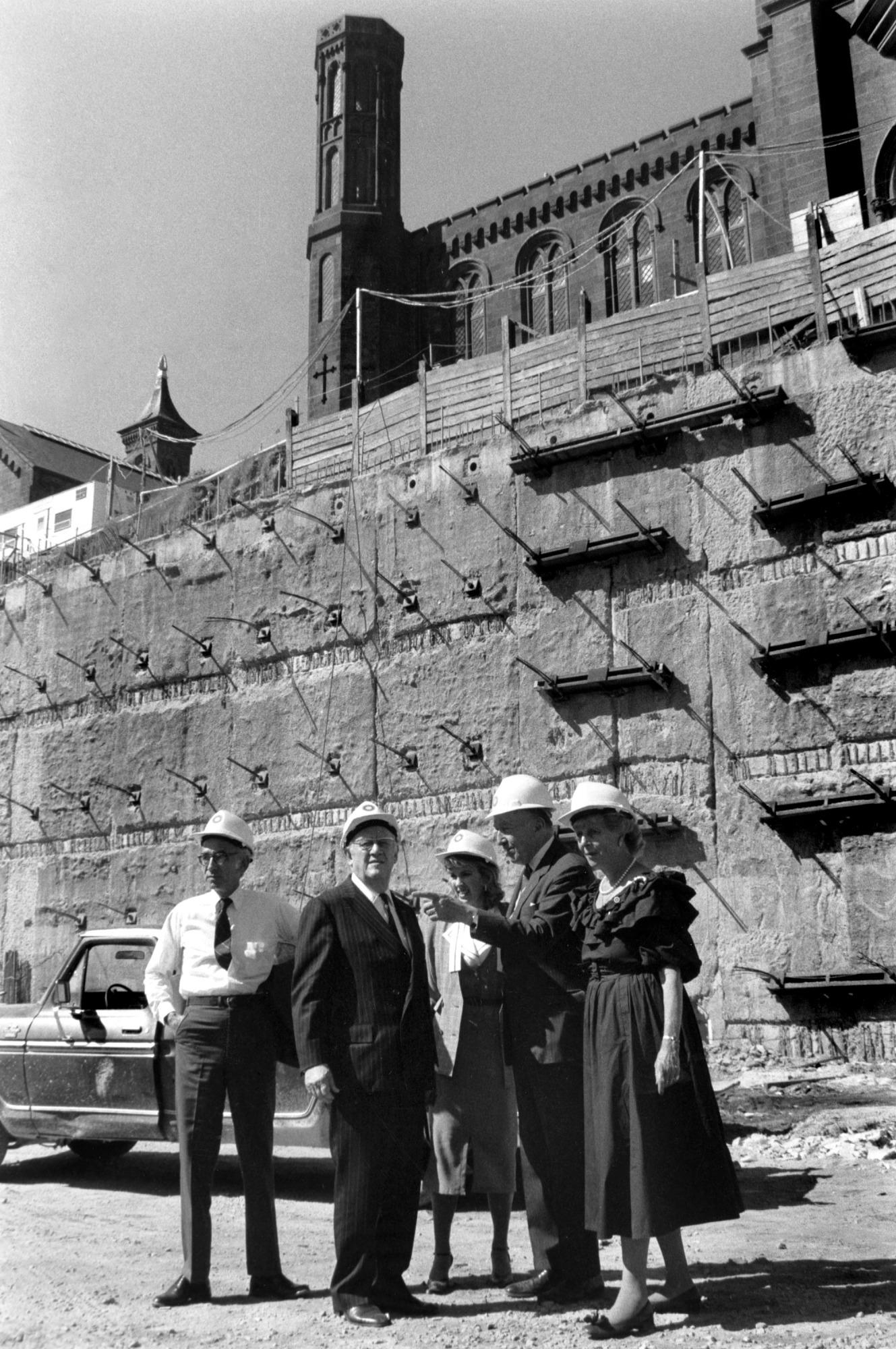 Secretary Ripley at Quad Construction