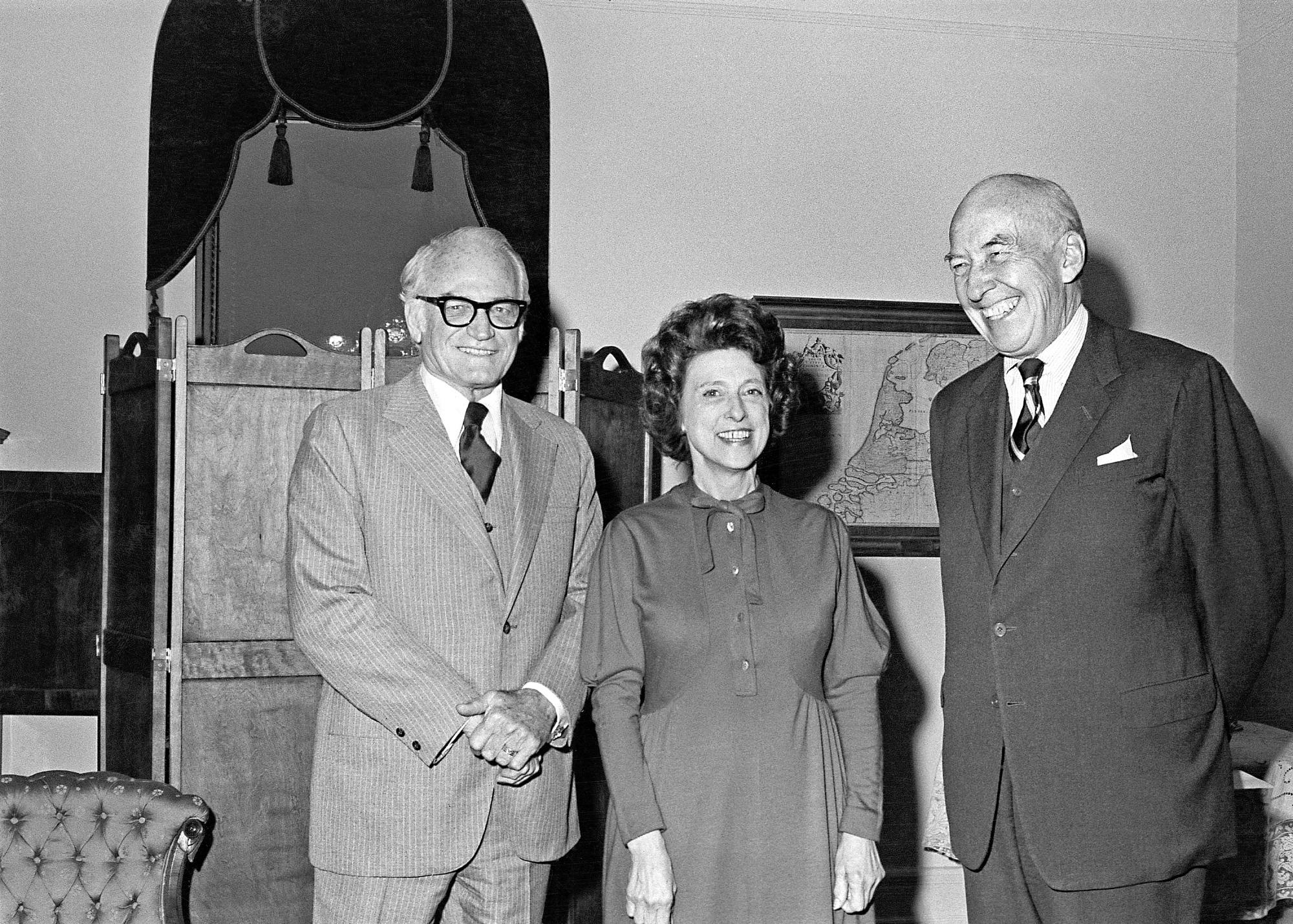 Senator Goldwater, Representative Boggs & Secretary Ripley