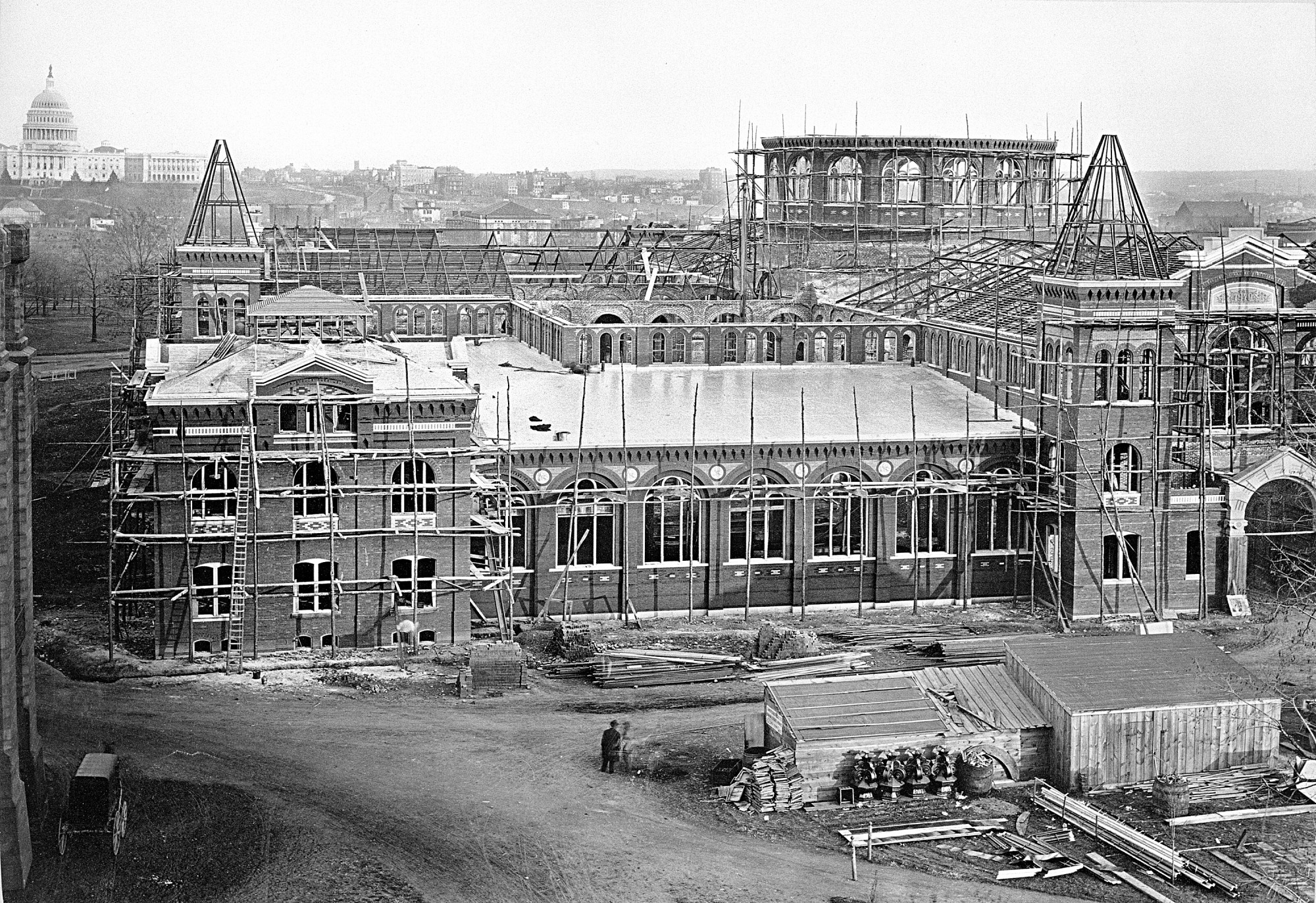 U.S. National Museum Under Construction