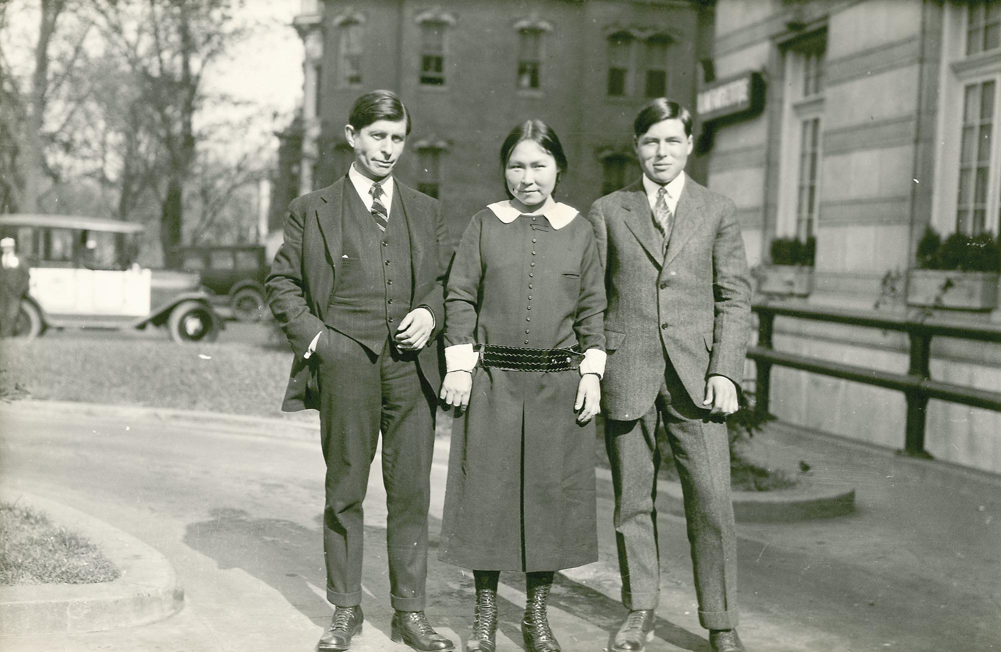 Rasmussen, Arnarulunguak and Miteq Visit Washington, D.C