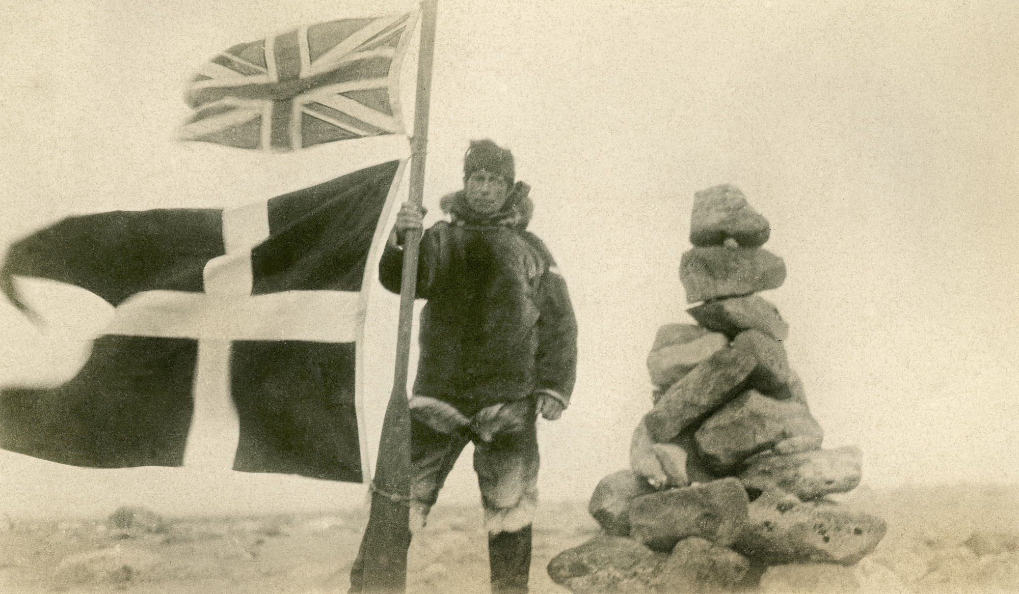 Burying Members of the Franklin Expedition at Starvation Cove