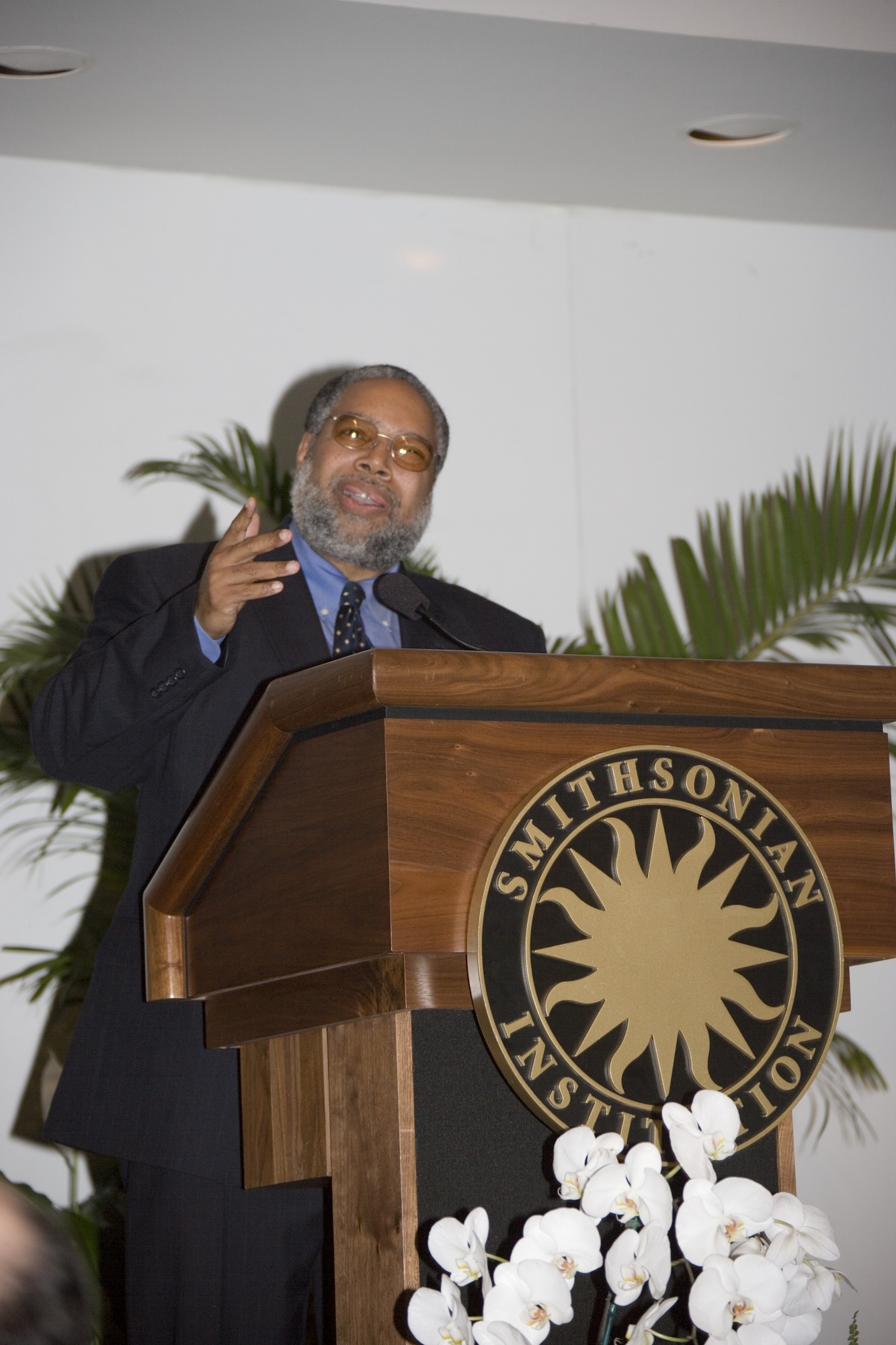 Lonnie Bunch at NMAAHC Site Selection News Conference