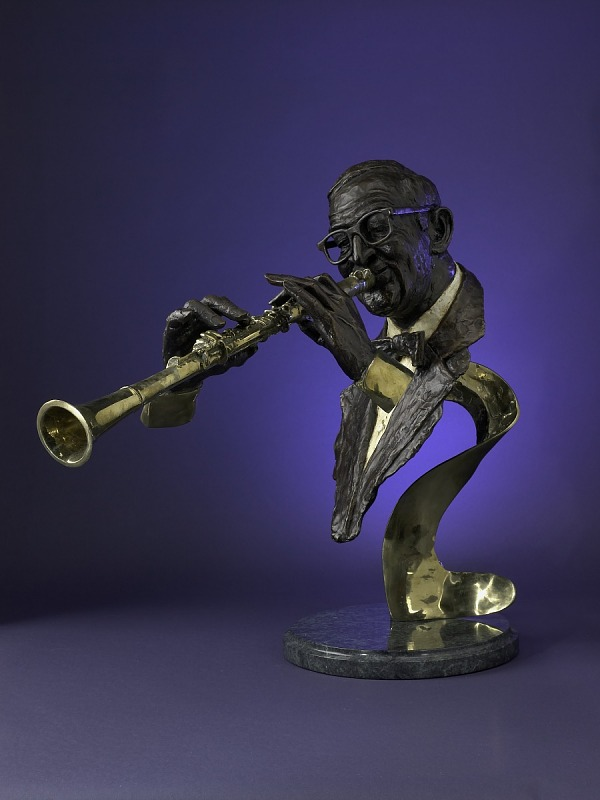 Image 1 for Bust of Benny Goodman