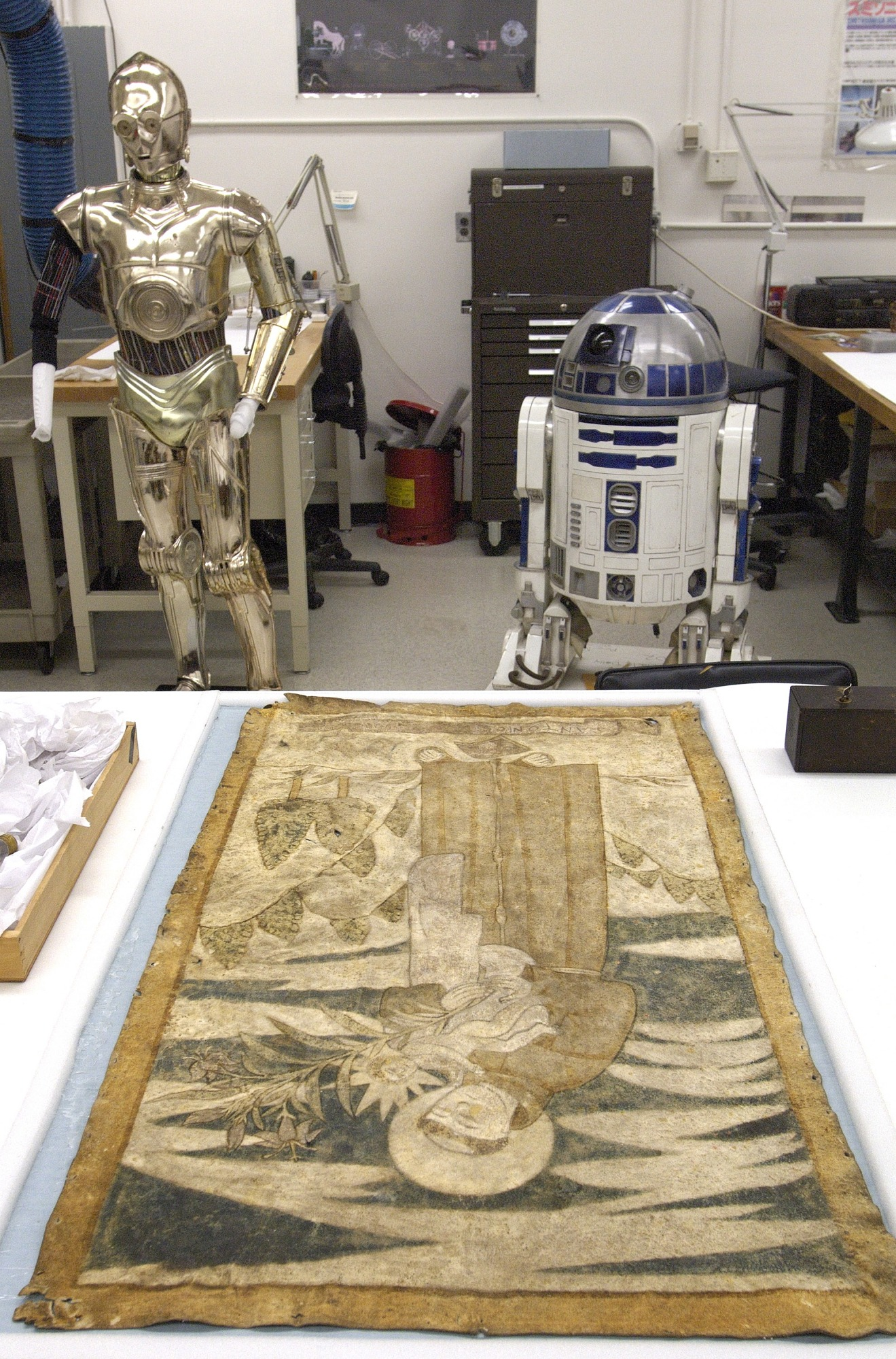 C-3PO and R2-D2, NMAH Iconic Collections on View