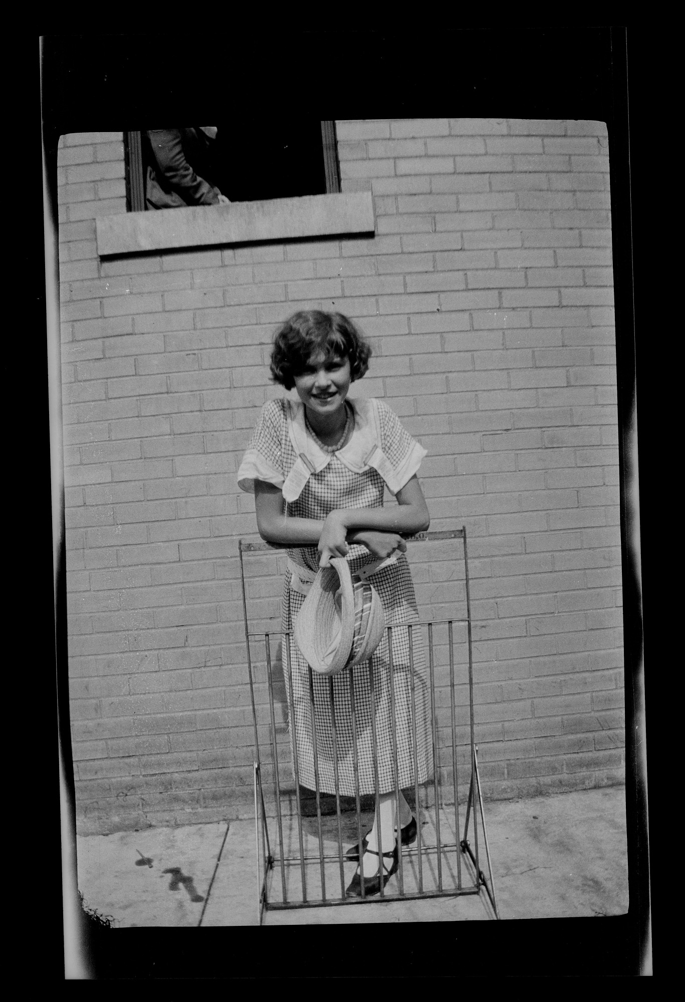 Unidentified young woman, Dayton, Tennessee, July 1925