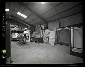 Image of Interior View of Silver Hill Facility, Storage Building #19