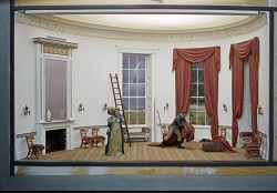 First Ladies Hall Diorama, Dolley Madison, 1961