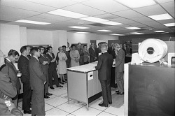 Open House Demonstration of Honeywell Computer