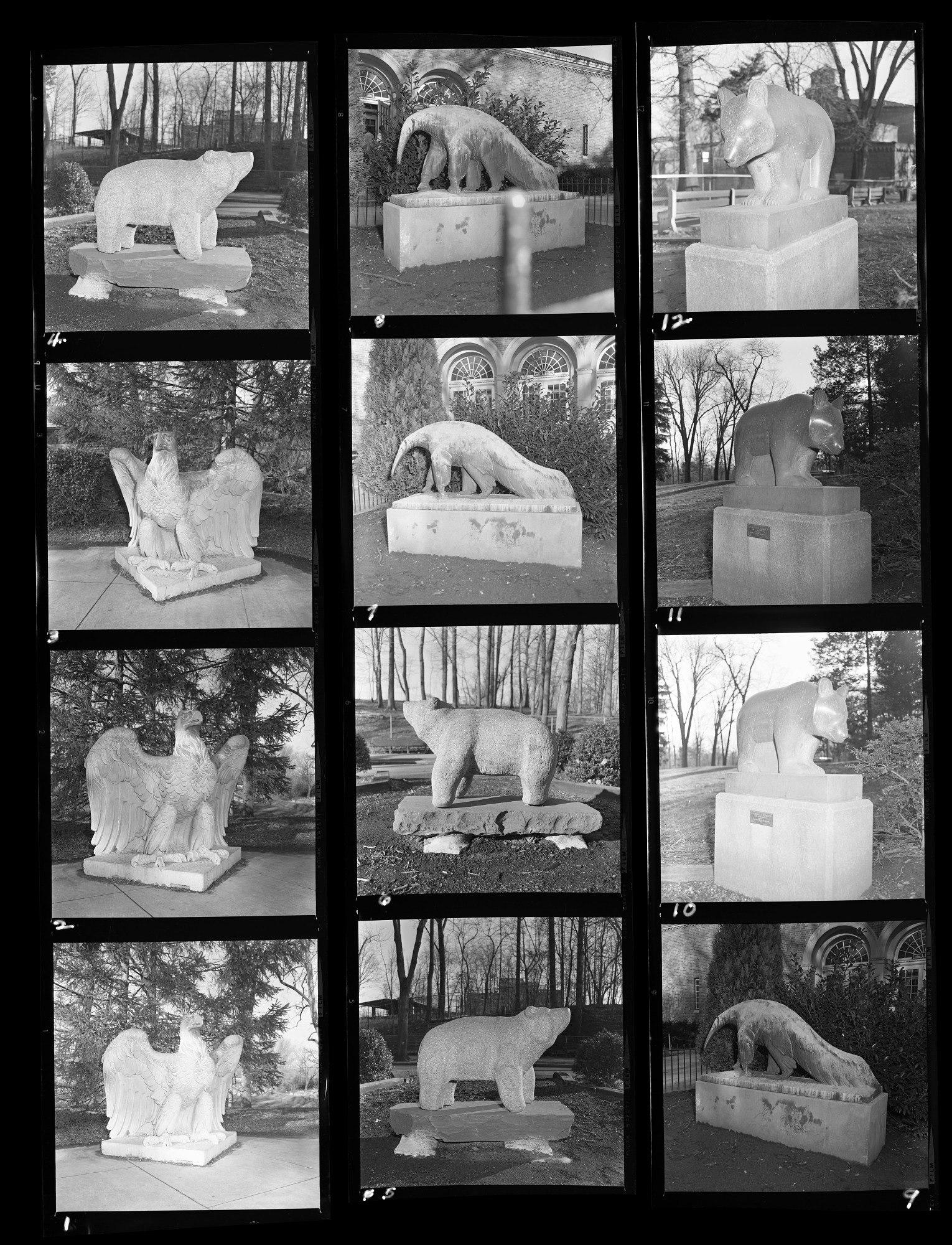 Statues at the National Zoological Park