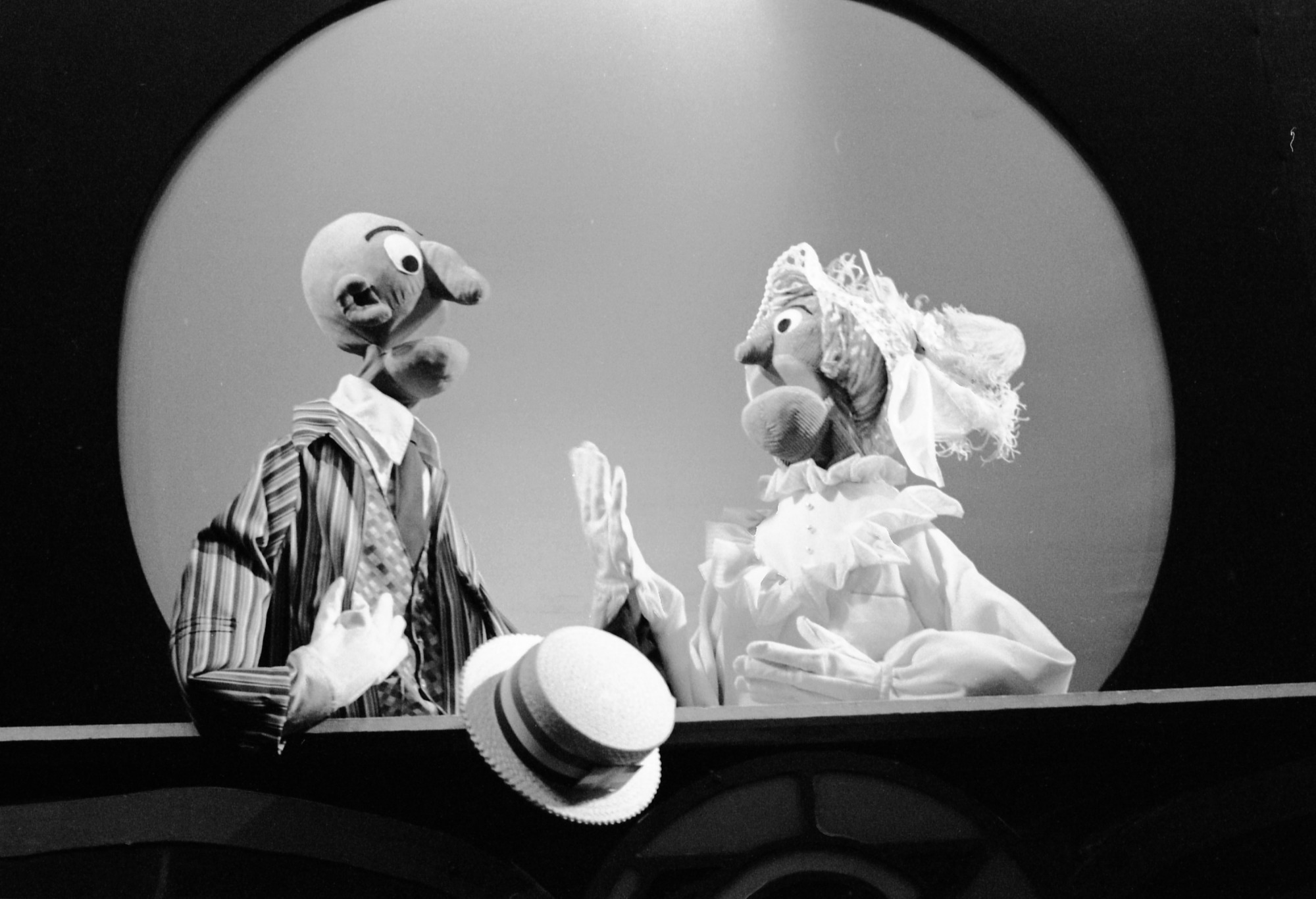 Puppet Theater, 1972, Smithsonian Institution Archives, SIA Acc. 11-009 [72-8376-16].