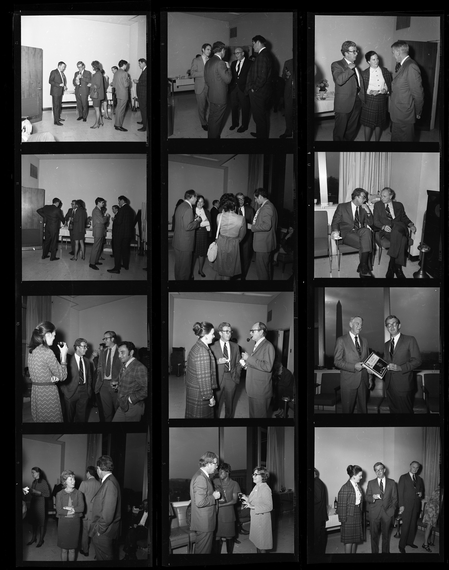 Reception for Peter C. Welsh, 1971, Smithsonian Institution Archives, SIA Acc. 11-009 [72-865].
