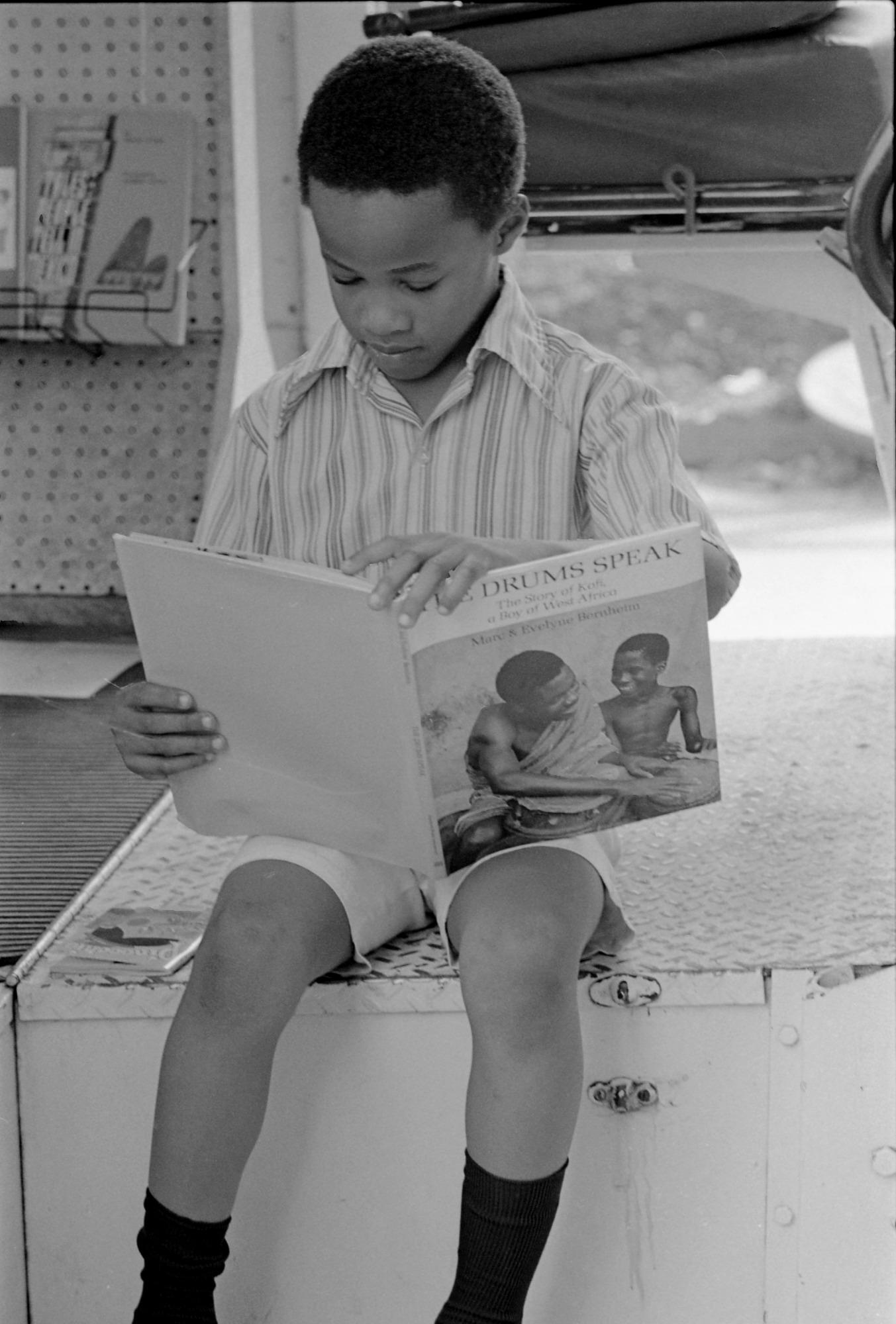 Reading is Fundamental Bookmobile