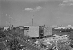 Construction of New National Air and Space Museum