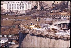 Image of Construction of Hirshhorn Museum and Sculpture Garden
