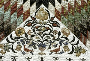 """images for 1825 - 1835 Betsy Totten's """"Rising Sun"""" Quilt-thumbnail 2"""