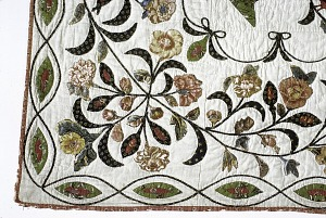 """images for 1825 - 1835 Betsy Totten's """"Rising Sun"""" Quilt-thumbnail 5"""