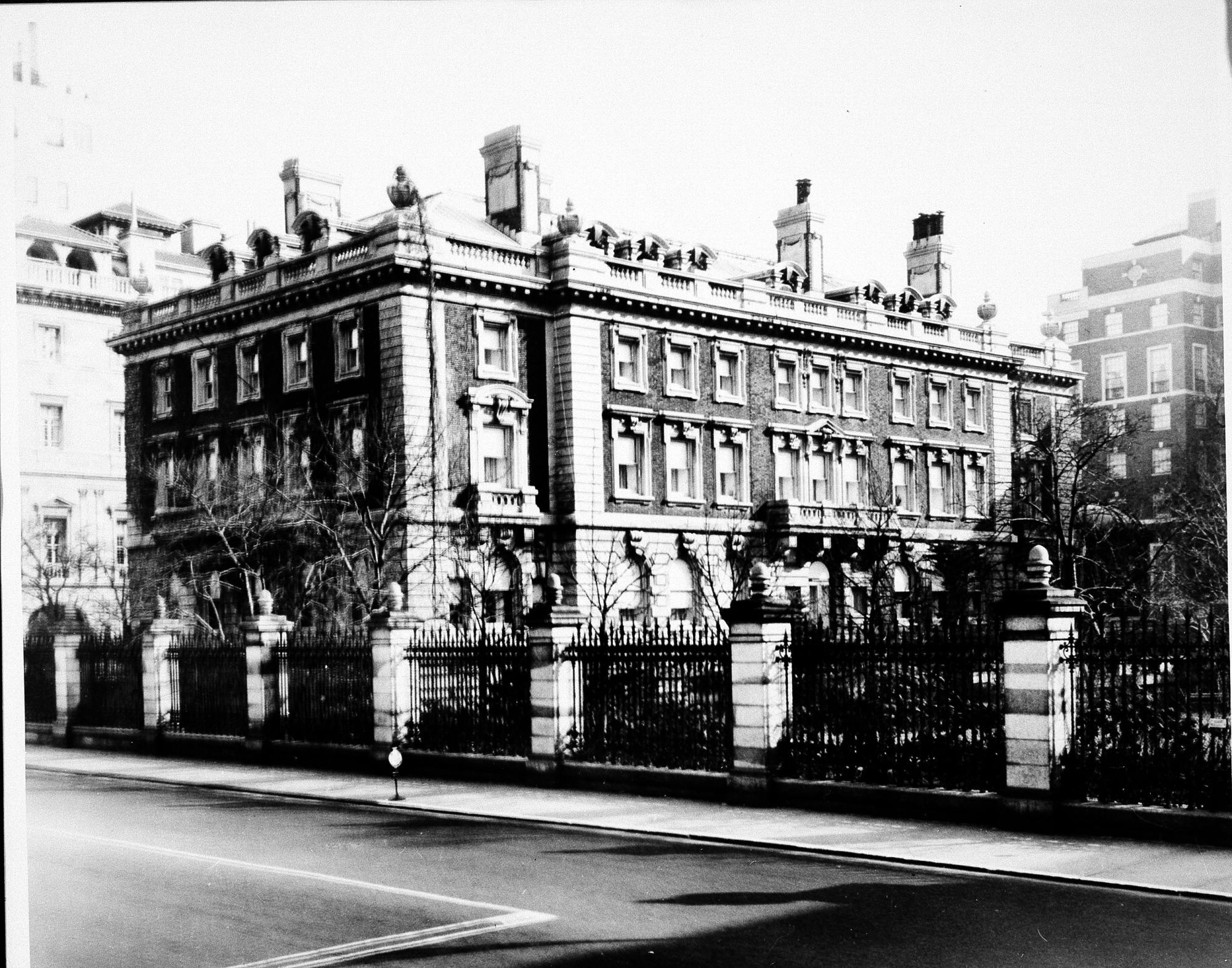 May 14 Carnegie Mansion/Cooper-Hewitt Museum