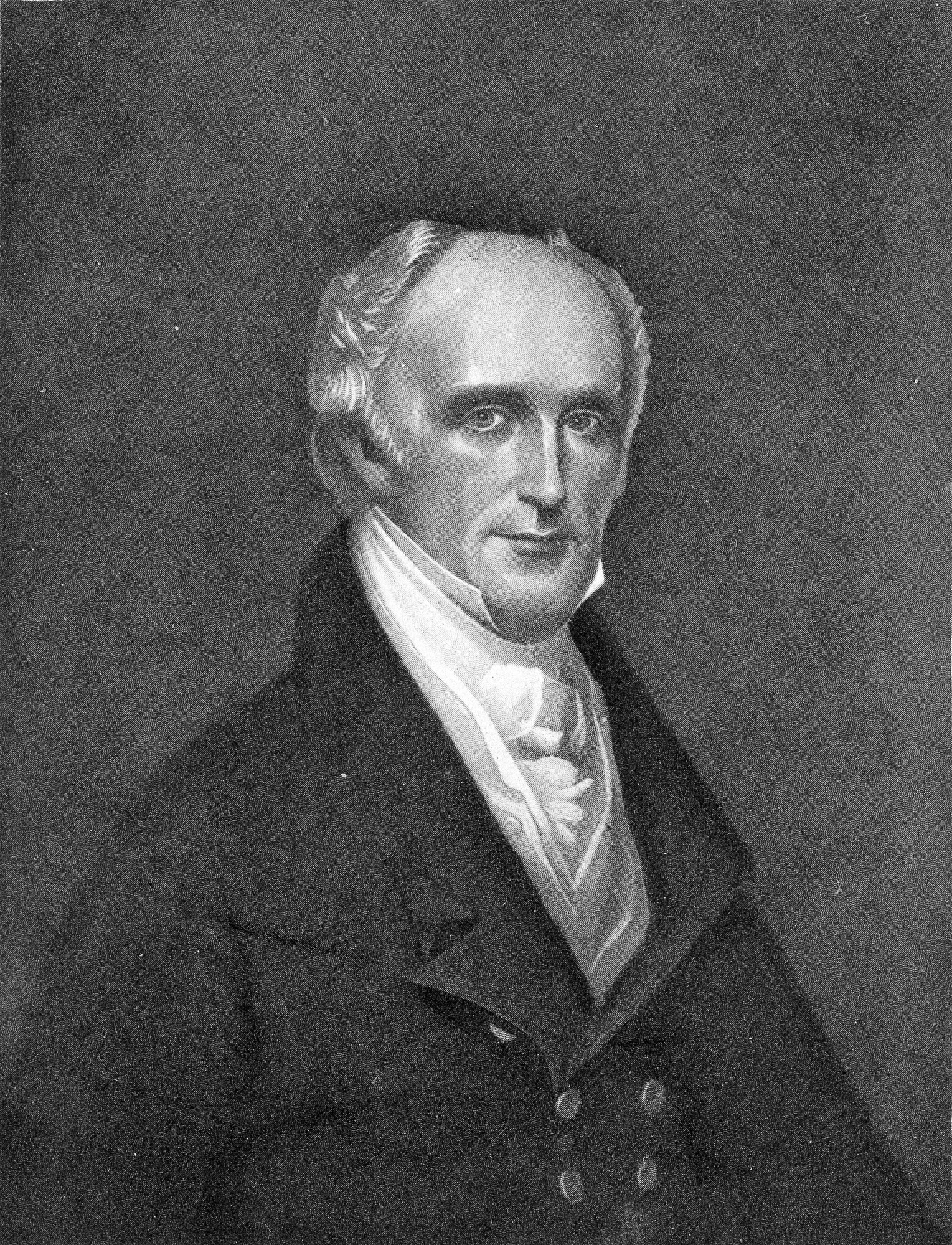 Richard Rush, by Unknown, c. 1830, Smithsonian Archives - History Div, 74-10730.