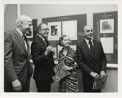 """Opening of Archives of American Art Exhibit, """"From Reliable Sources"""""""