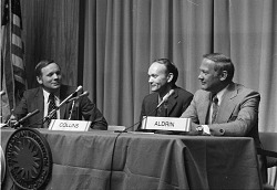 Apollo 11 Astronauts at Press Conference