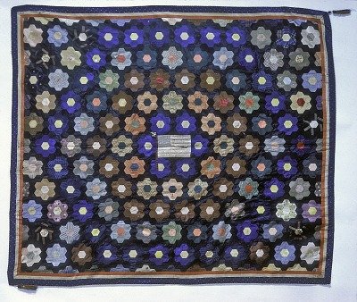 1860 - 1865 Mary Lord's Civil War Quilt