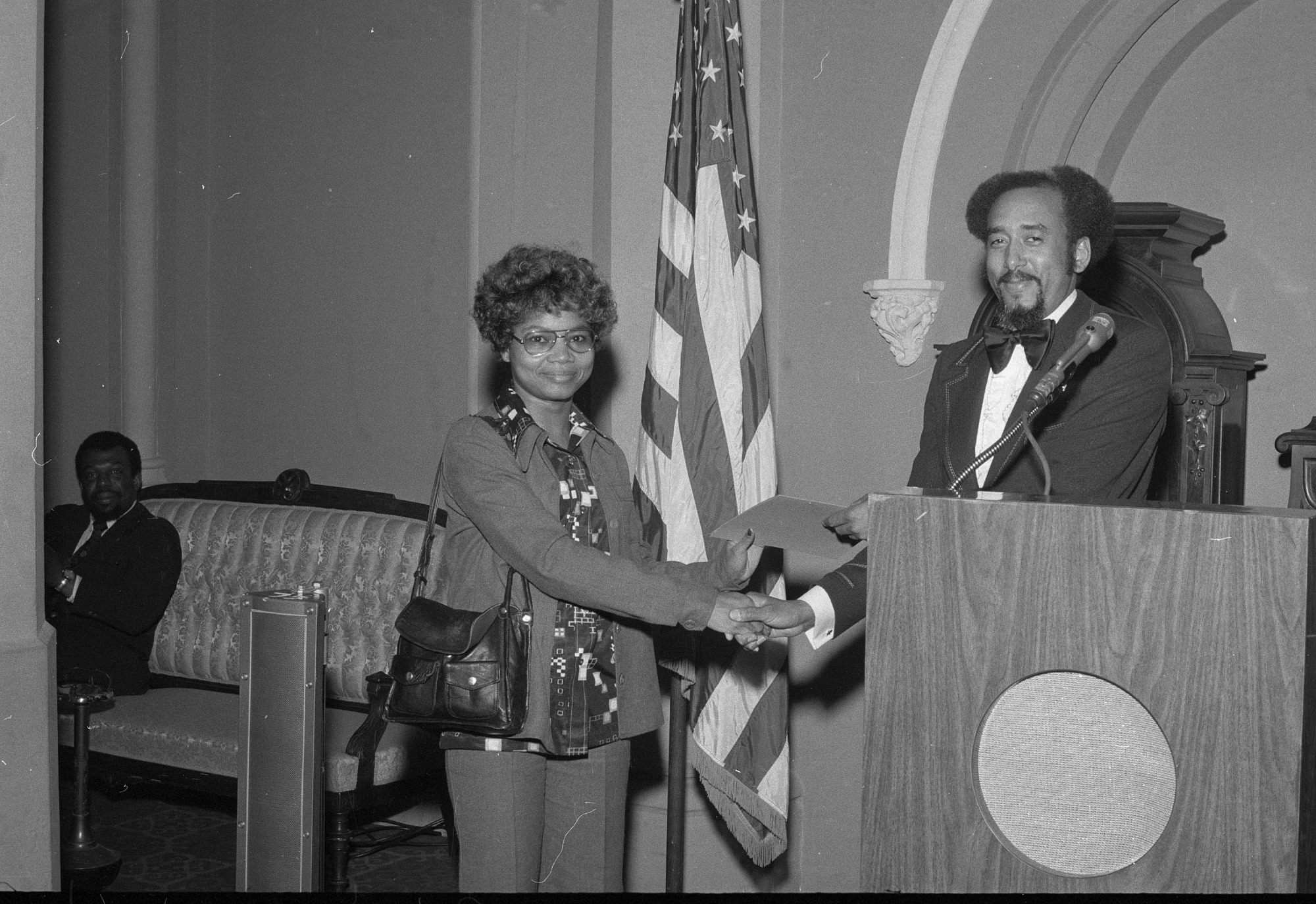 First EEO Awards Ceremony, by Unknown, 1975, Smithsonian Archives - History Div, 75-2929-20A.
