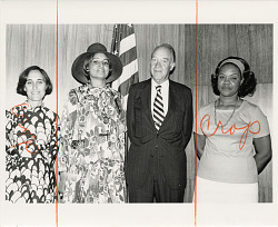 Women's Week Program Participants During International Women's Year, 1975