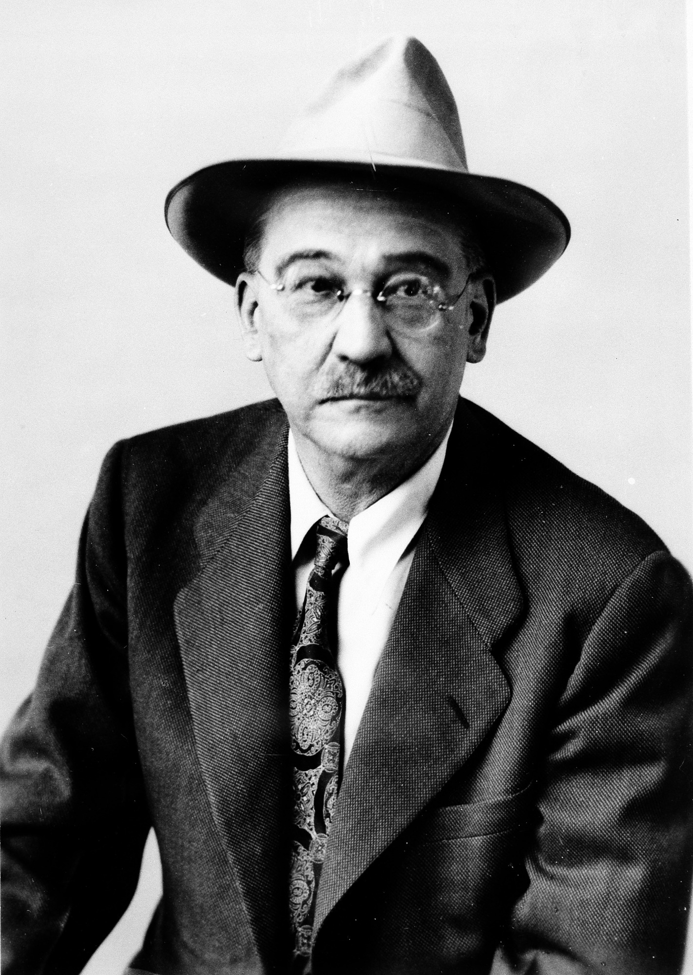William M. Mann, by Unknown, 1946, Smithsonian Archives - History Div, 76-6169.