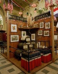 """State of California Exhibit, """"1876: A Centennial Exhibition"""""""