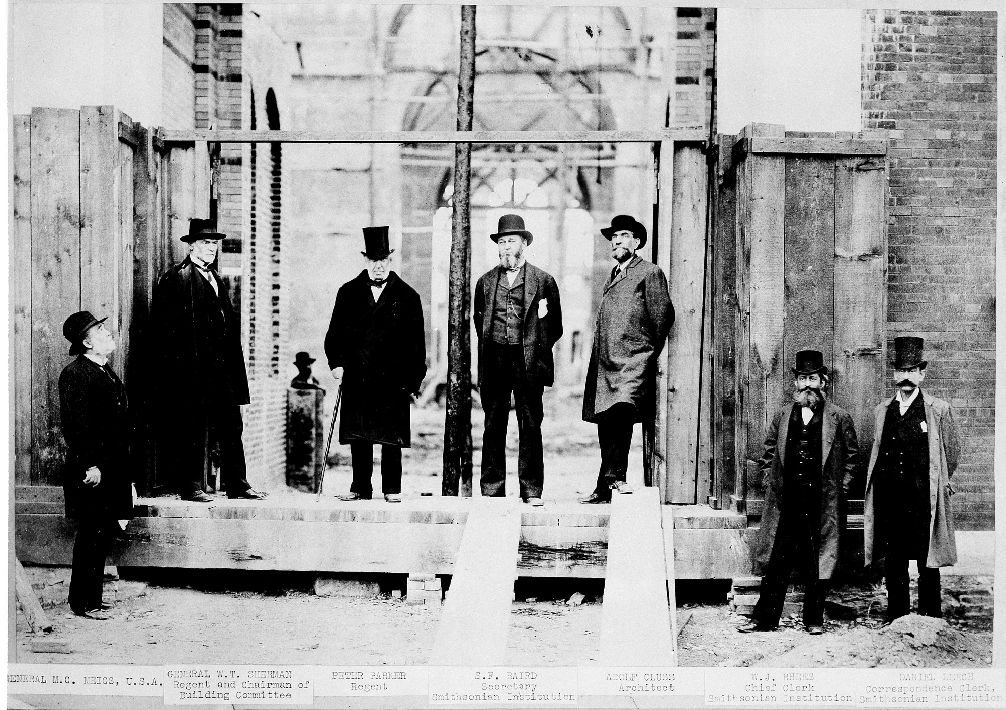 National Museum Building Committee, 1880