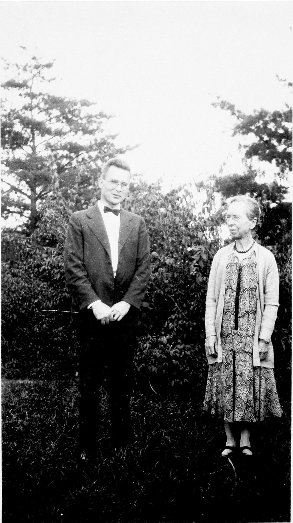 Mary Jane Rathbun and Waldo LaSalle Schmitt