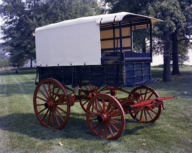 Delivery Wagon, about 1900