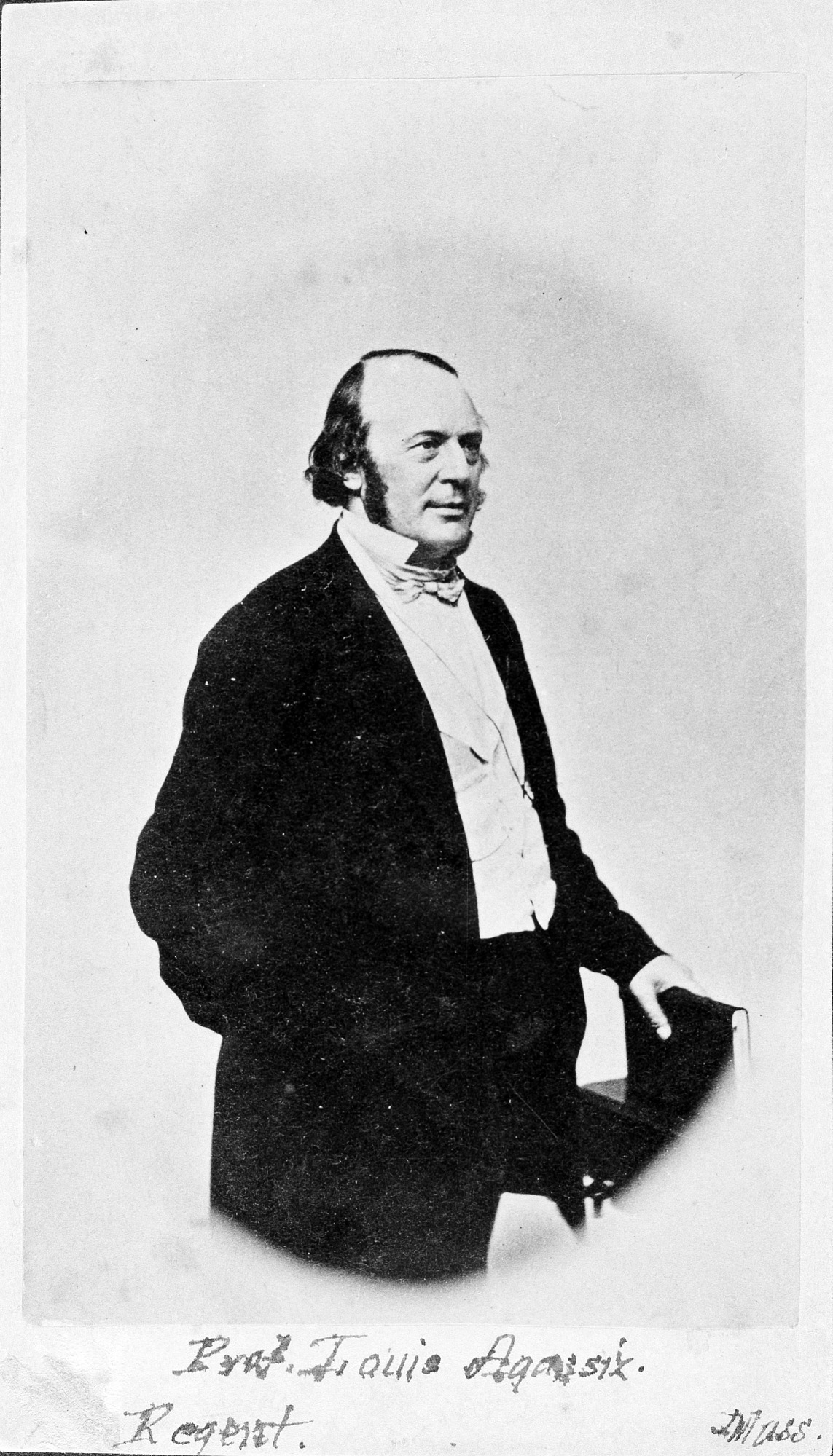 Jean Louis Agassiz, by Unknown, c. 1840s, Smithsonian Archives - History Div, 79-10451.