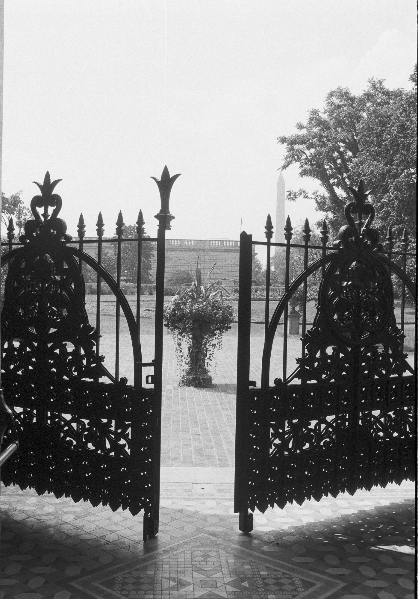 Victorian Gates on A&I Building