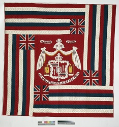 Object Analysis: Hawaiian Flag Quilt