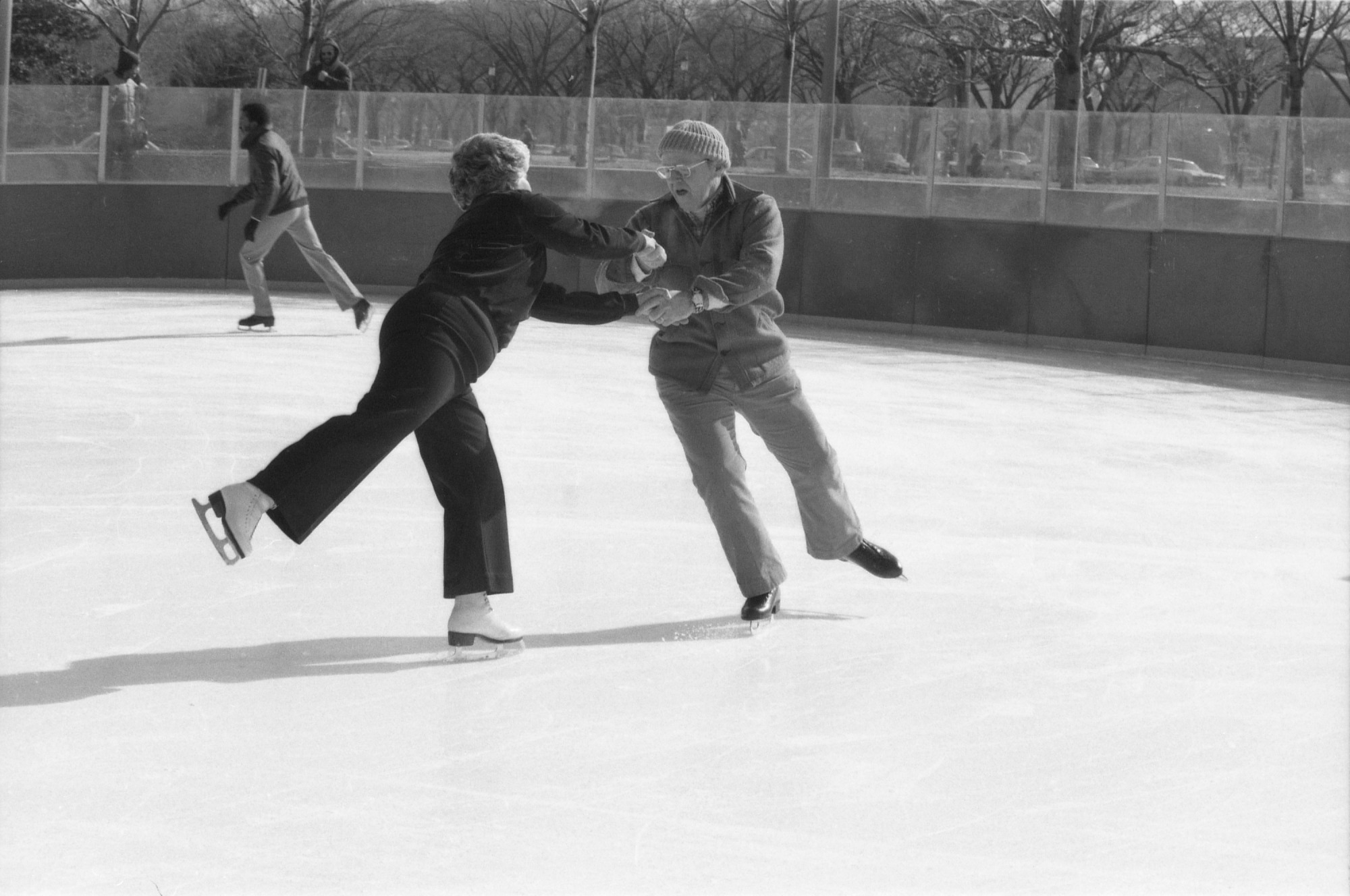 Phyllis and Paul Spangler Skate on the National Mall Outdoor Rink