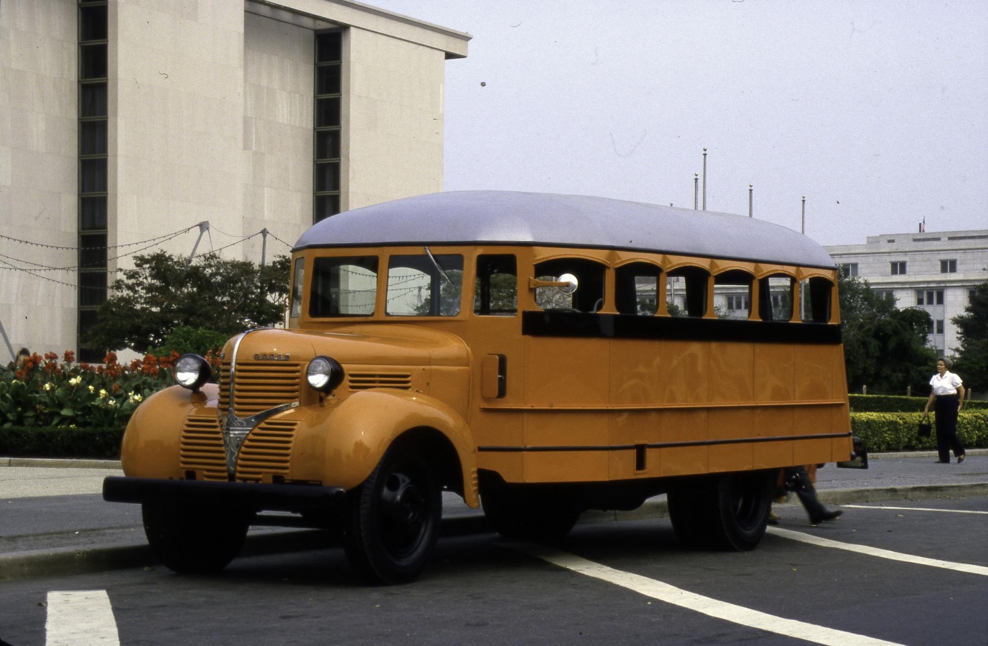36-passenger Dodge school bus, 1936