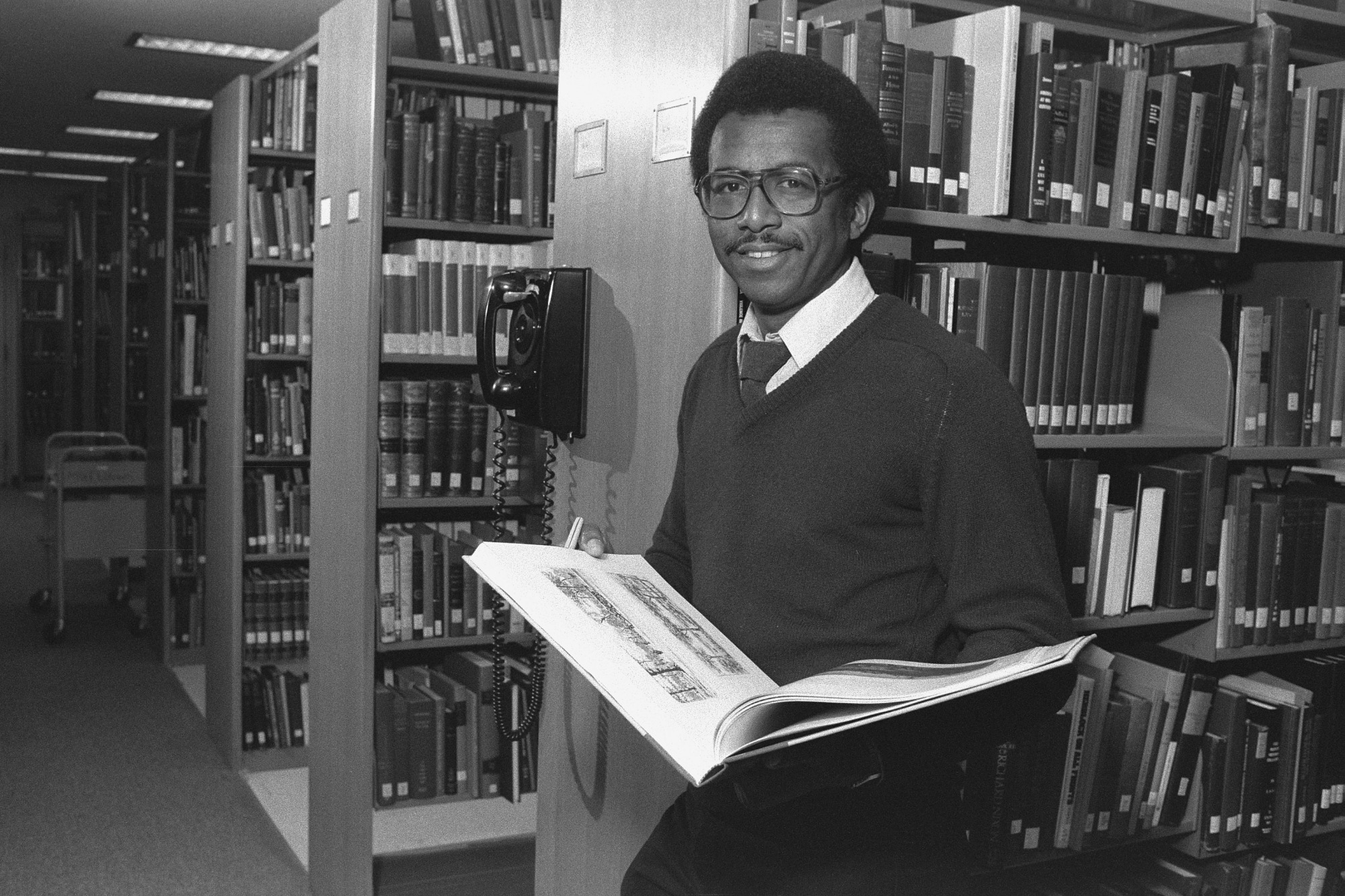 James O. Horton, by Penland, Dane A, 1982, Smithsonian Archives - History Div, 82-3114-15.