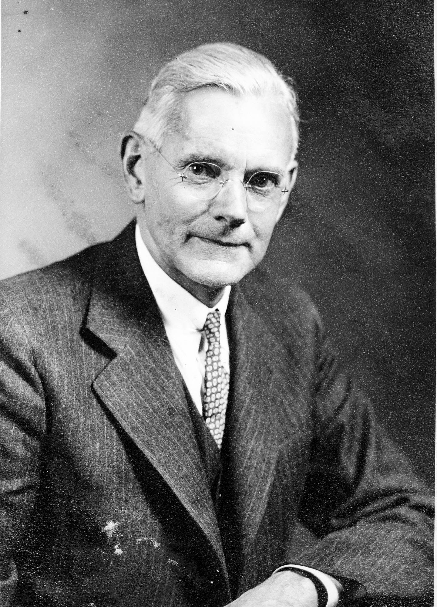 Alexander Wetmore Elected Secretary, January 12, 1945, Smithsonian Archives - History Div.