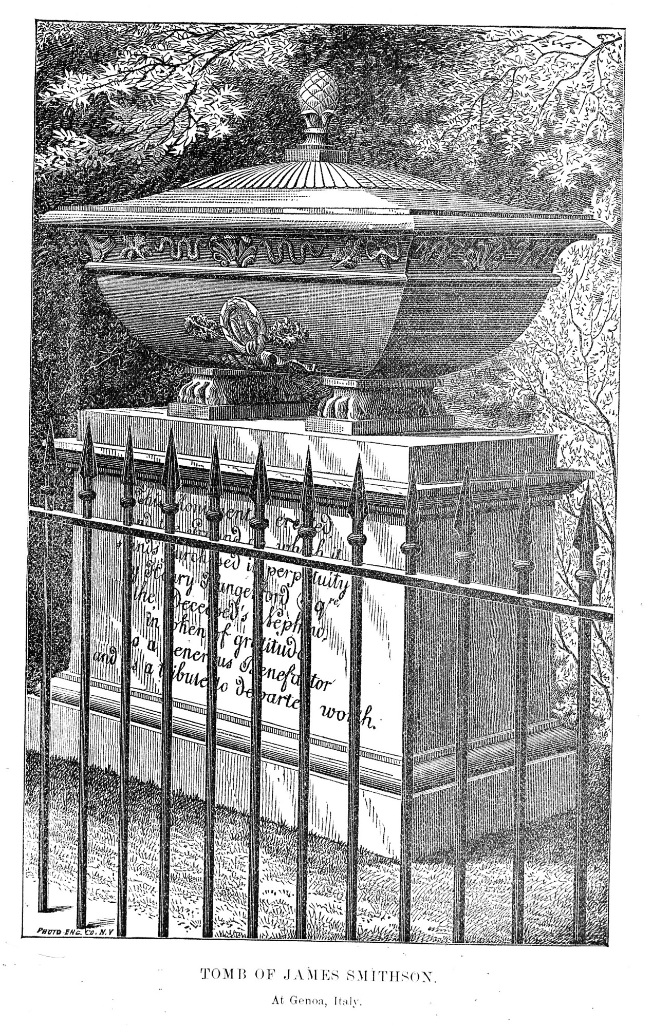 images for James Smithson's Tomb near Genoa, Italy