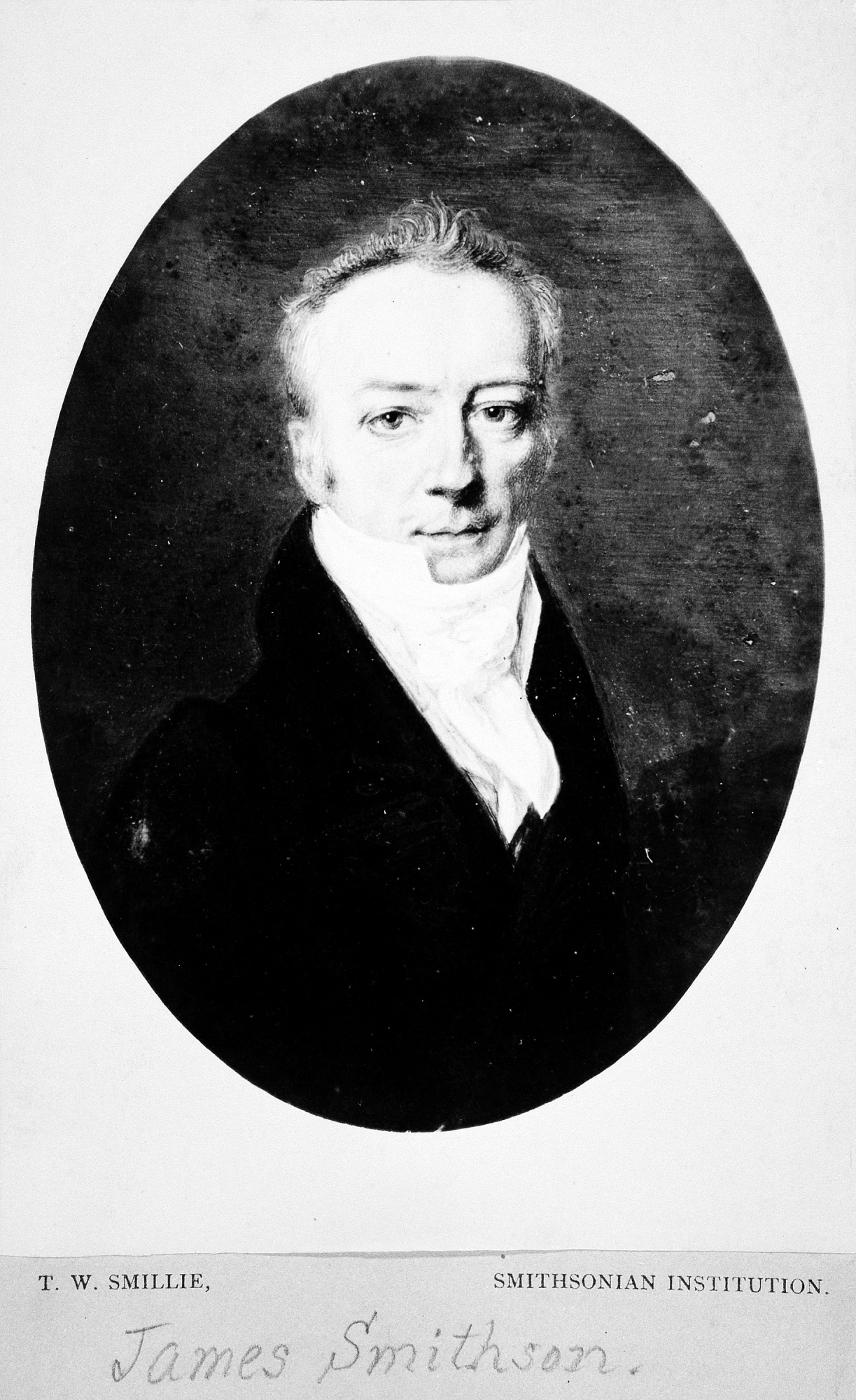 James Smithson Portrait by H. Johns