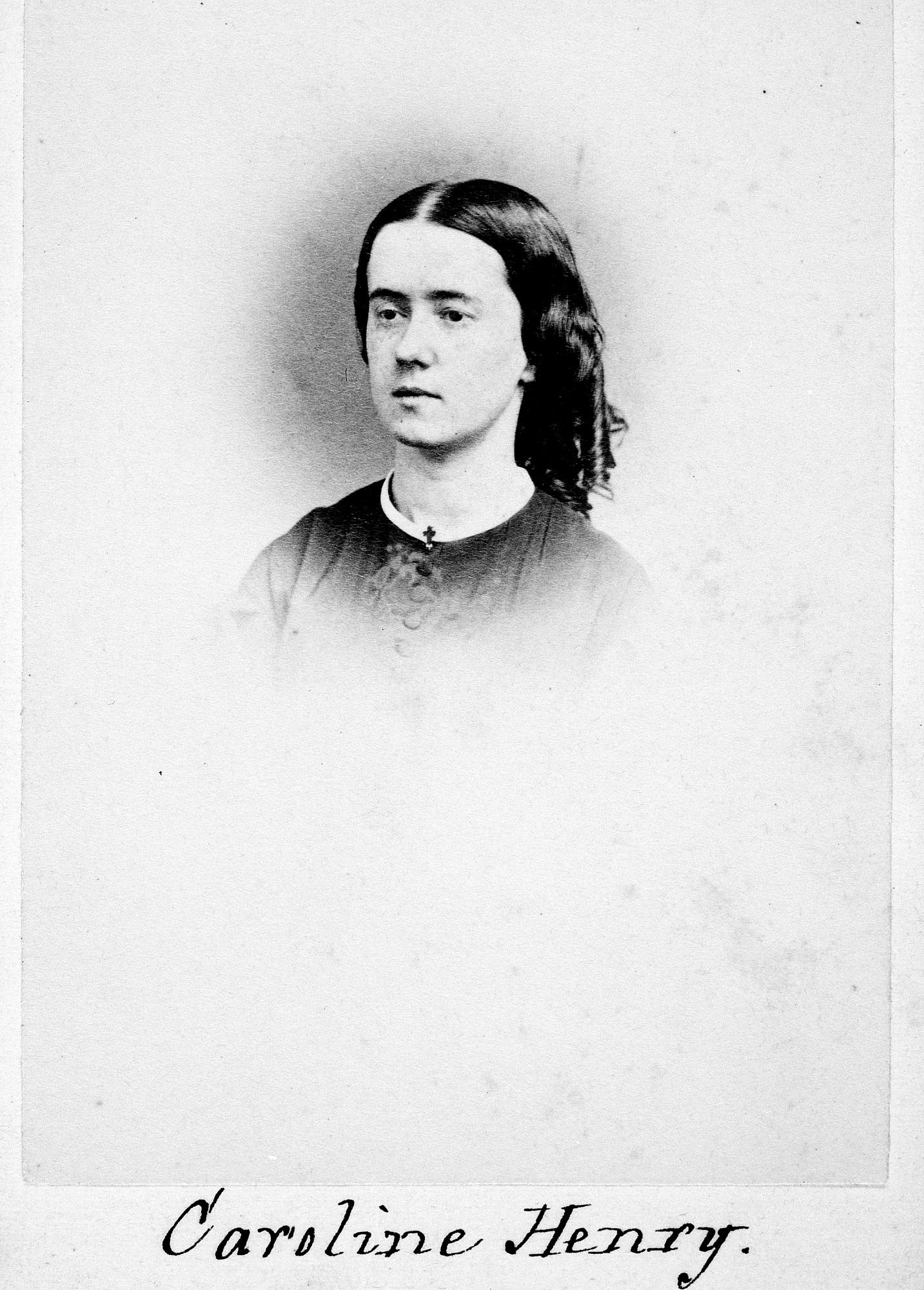 Joseph Henry's Daughter Caroline