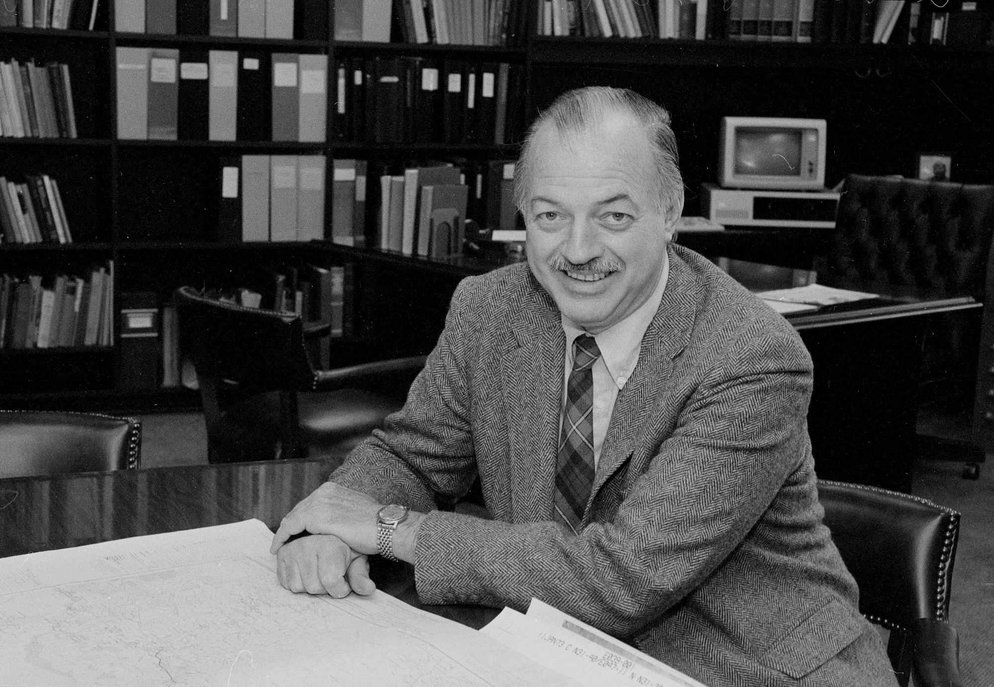 Secretary Robert McCormick Adams