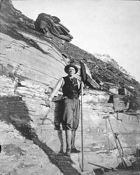 Secretary Charles D. Walcott in the Field