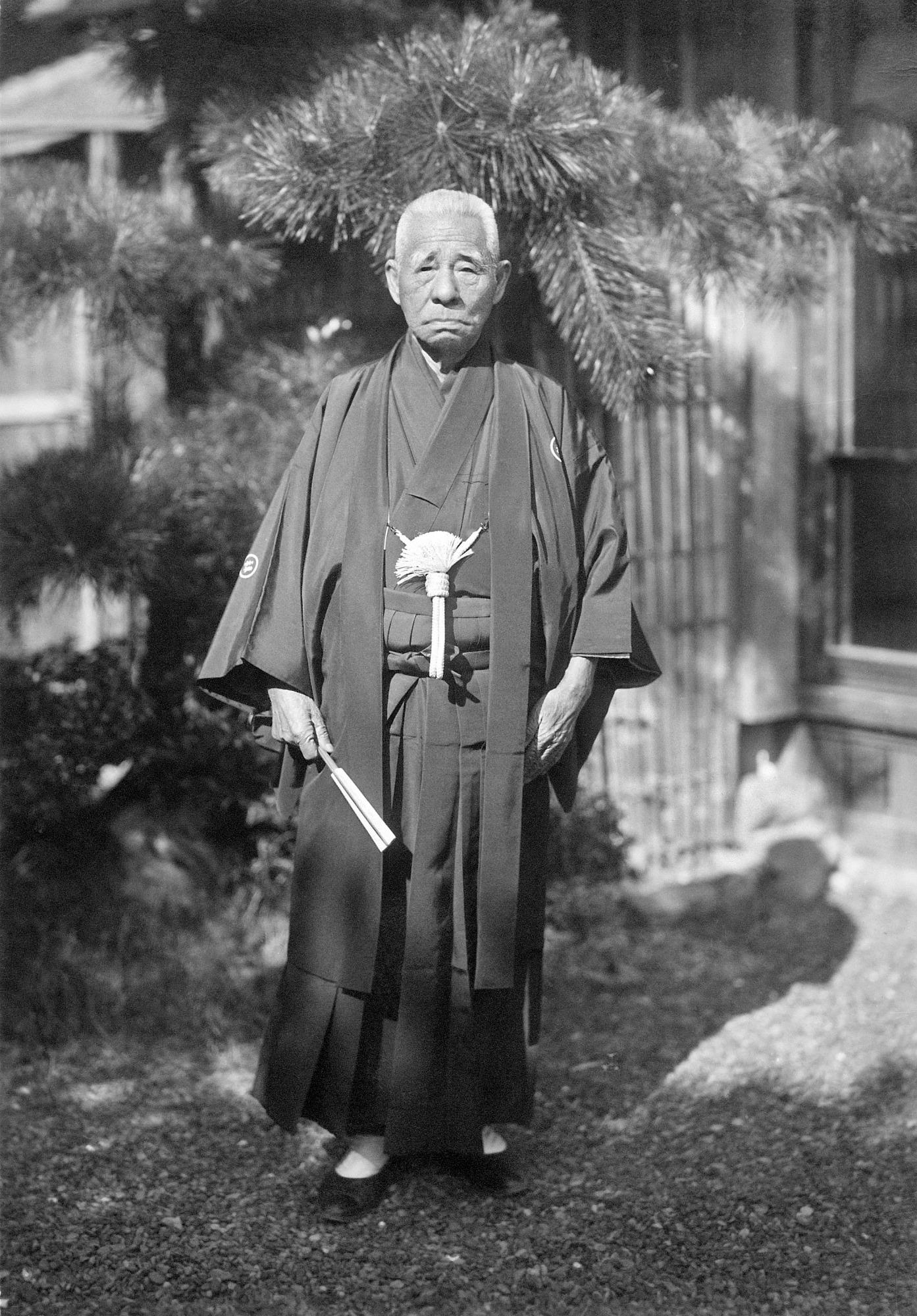 Kokichi Mikimoto, by Henderson, Edward Porter, 1945, Smithsonian Archives - History Div, 85-11399.