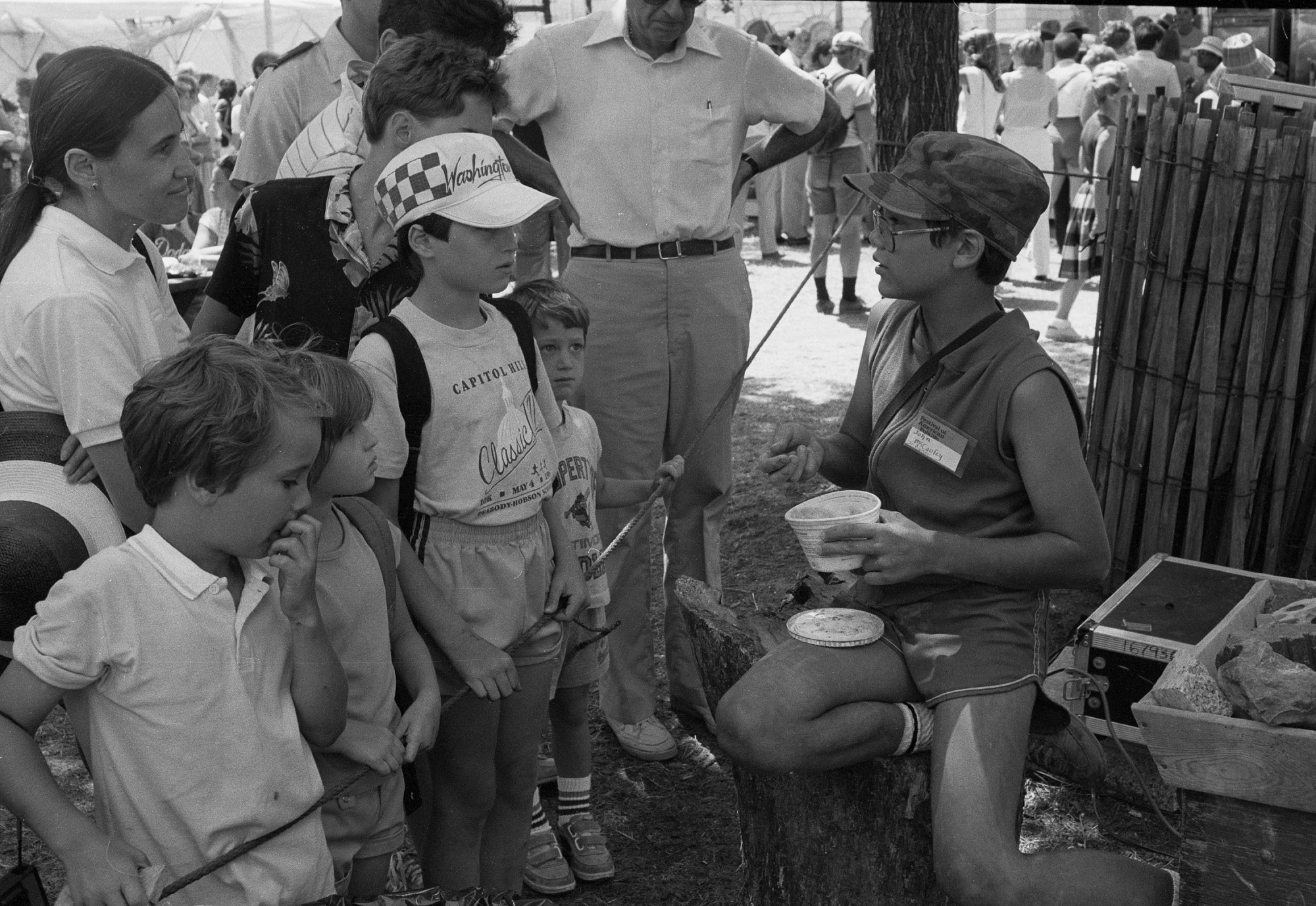 Junior Volunteer at Folklife Festival
