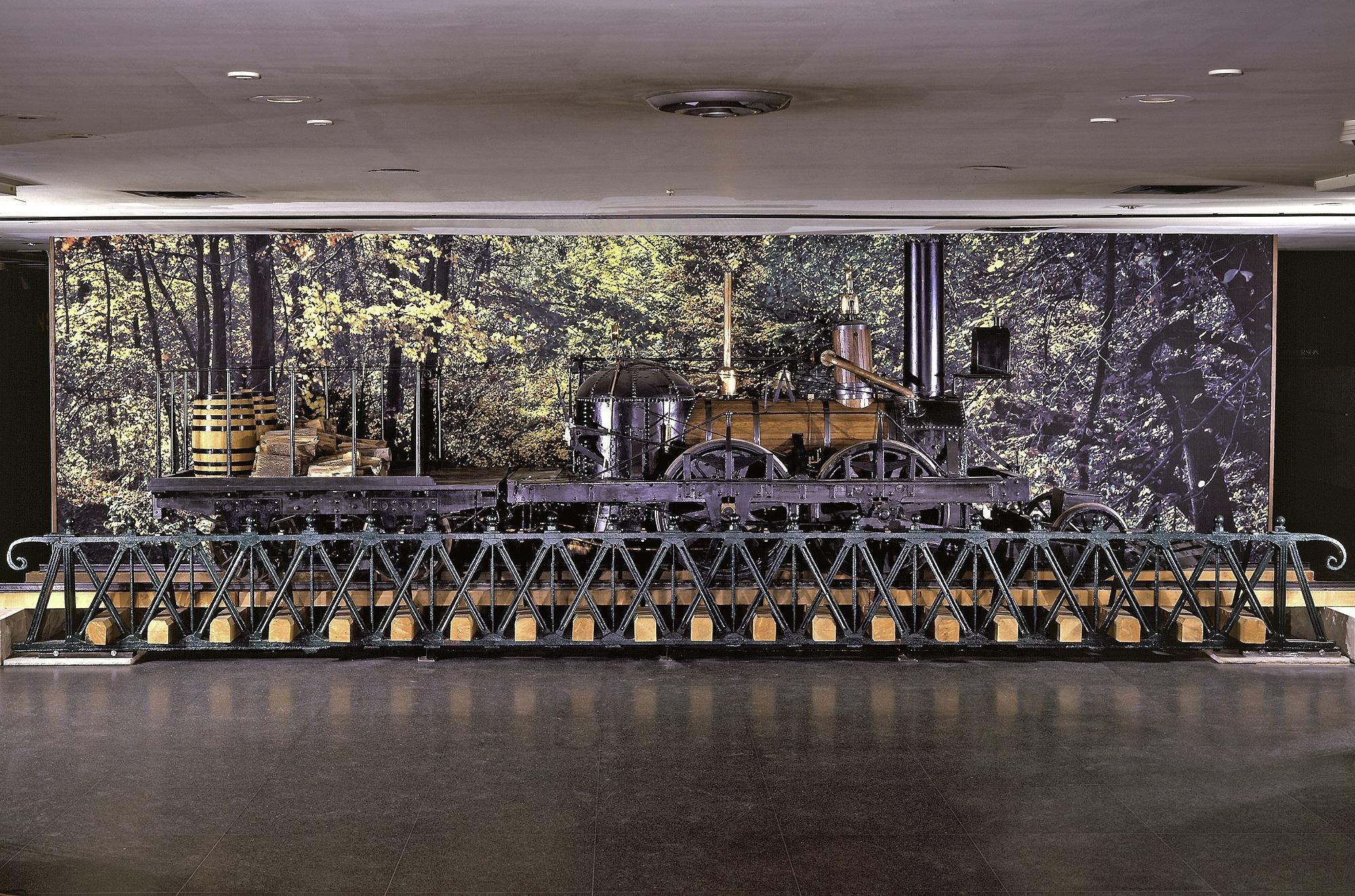 images for Steam Locomotive, <I>John Bull</I>