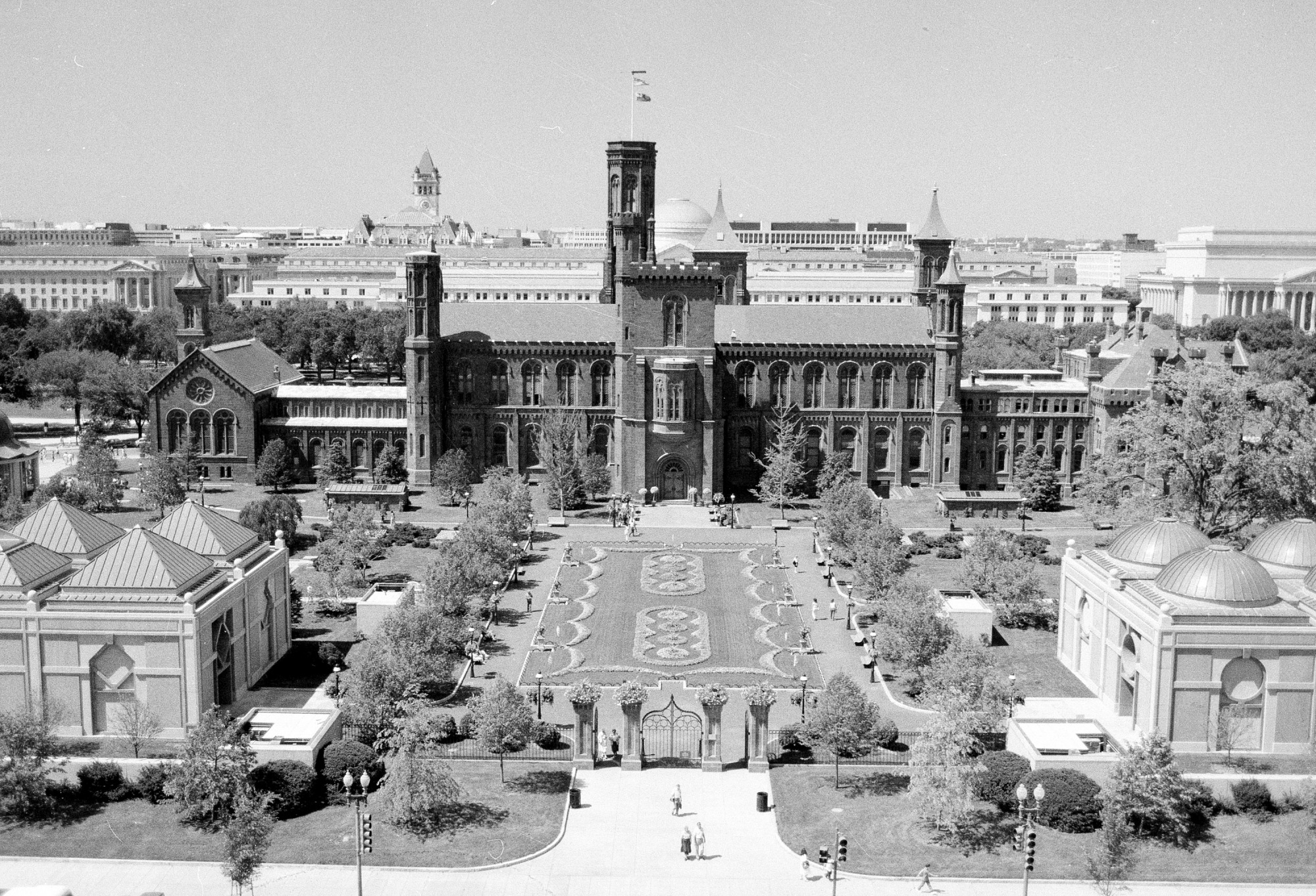 View of Quadrangle from Top Forrestal Building