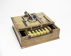 Sholes, Glidden, & Soule Typewriter Patent Model